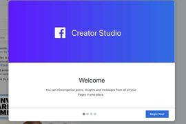 Nouveau Studio Creator video de facebook