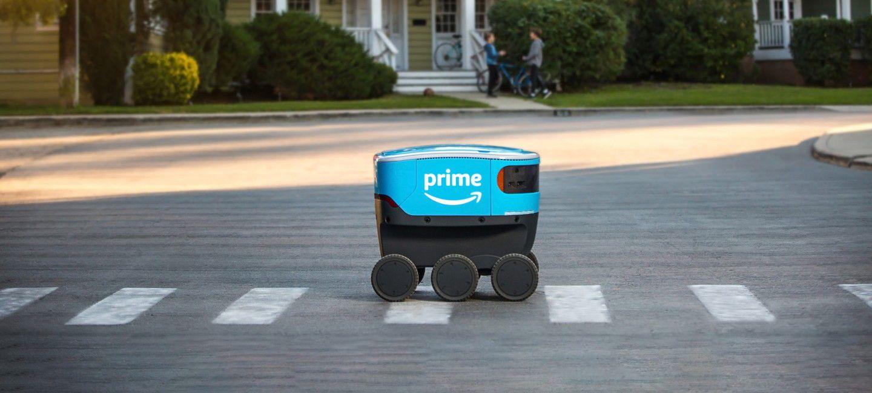 Le robot Scout d'Amazon