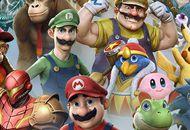 super smash bros artworks personnages