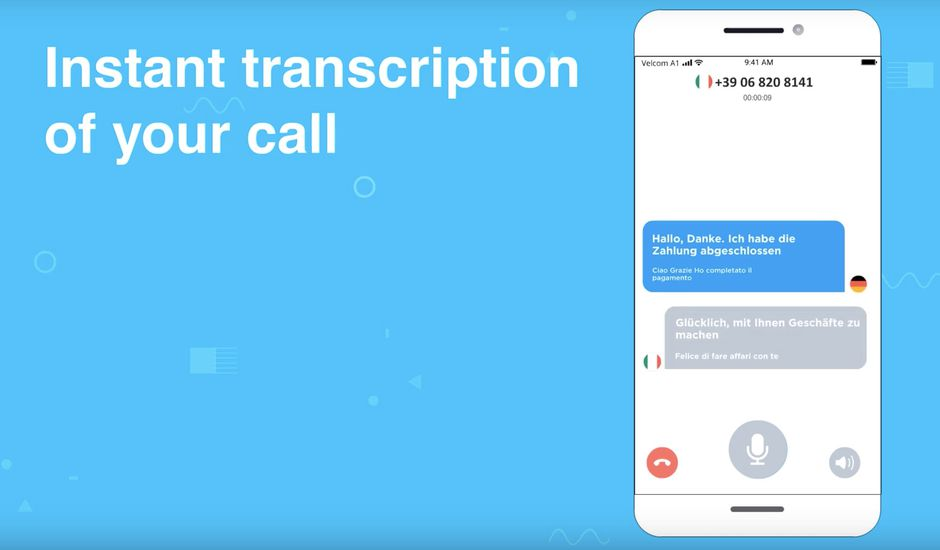 aperçu Phone Call Translator