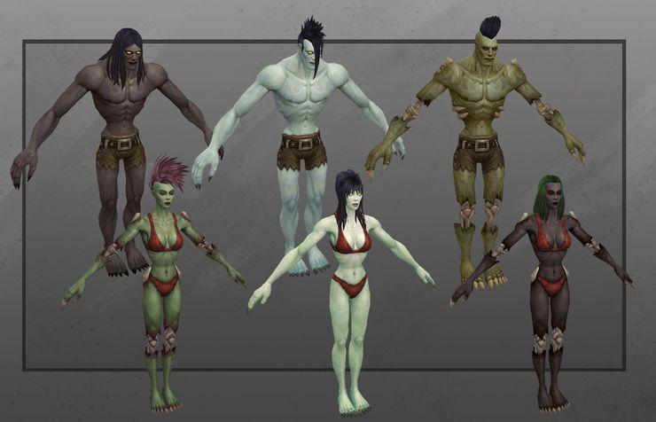 personnalisation morts vivants World of Warcraft