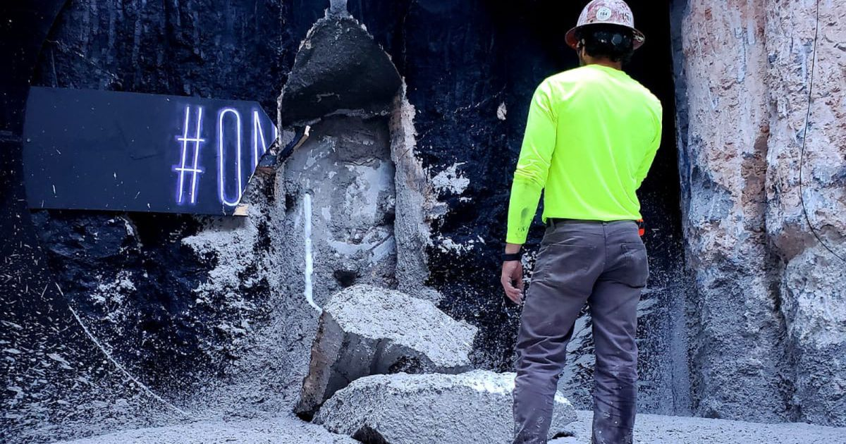 The Boring Company a terminé de creuser le tunnel de Las Vegas