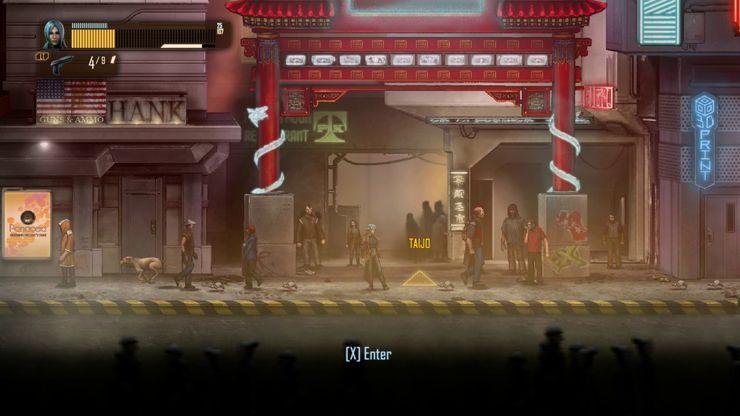 Capture d'écran du jeu vidéo Dex sur la Switch