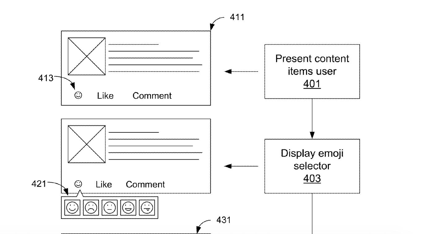 facebook brevet emoji bouton