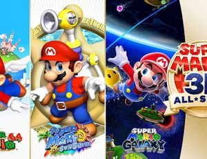 super mario 3d all-stars sur swtich