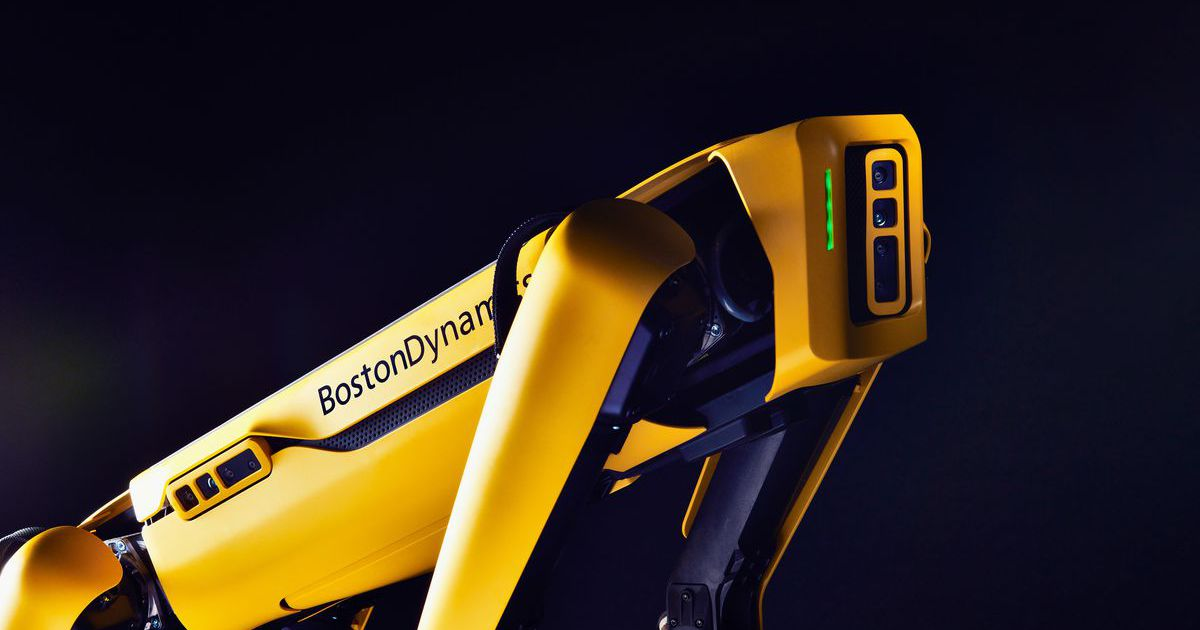 Le robot Spot de Boston Dynamics