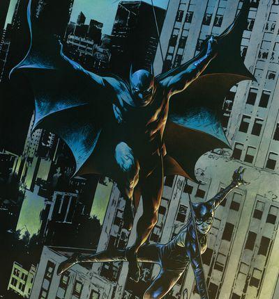couvertures batman catwoman