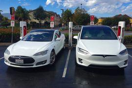 L'autonomie des voitures tesla Model S et X augmente