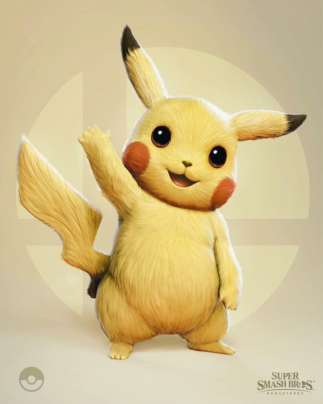 artworks pikachu