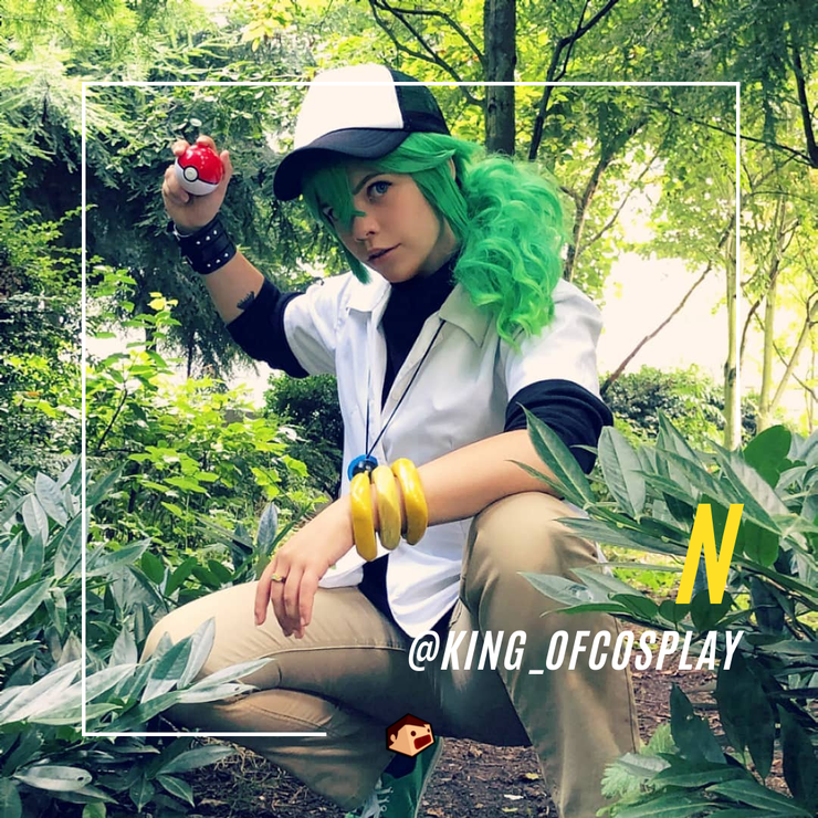 N cosplay pokemon noir et blanc