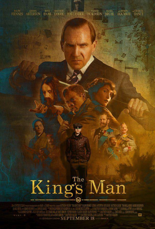 Affiche inédite de The King's Man : Première Missison