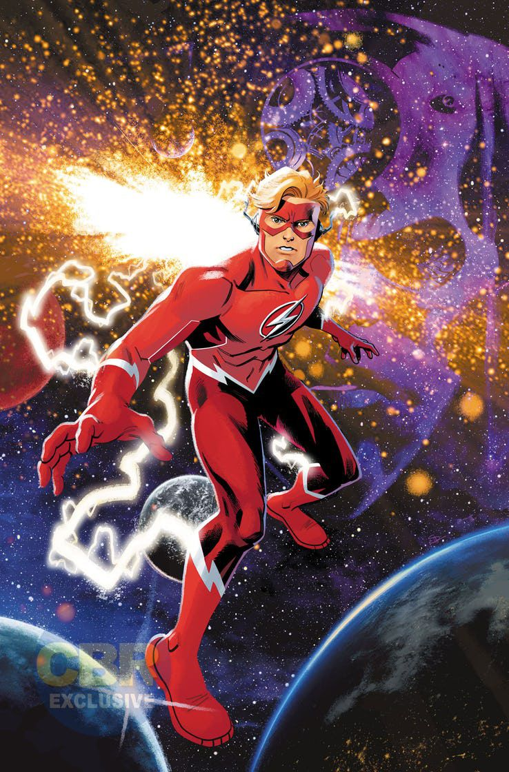 Nouveau comics Flash Forward