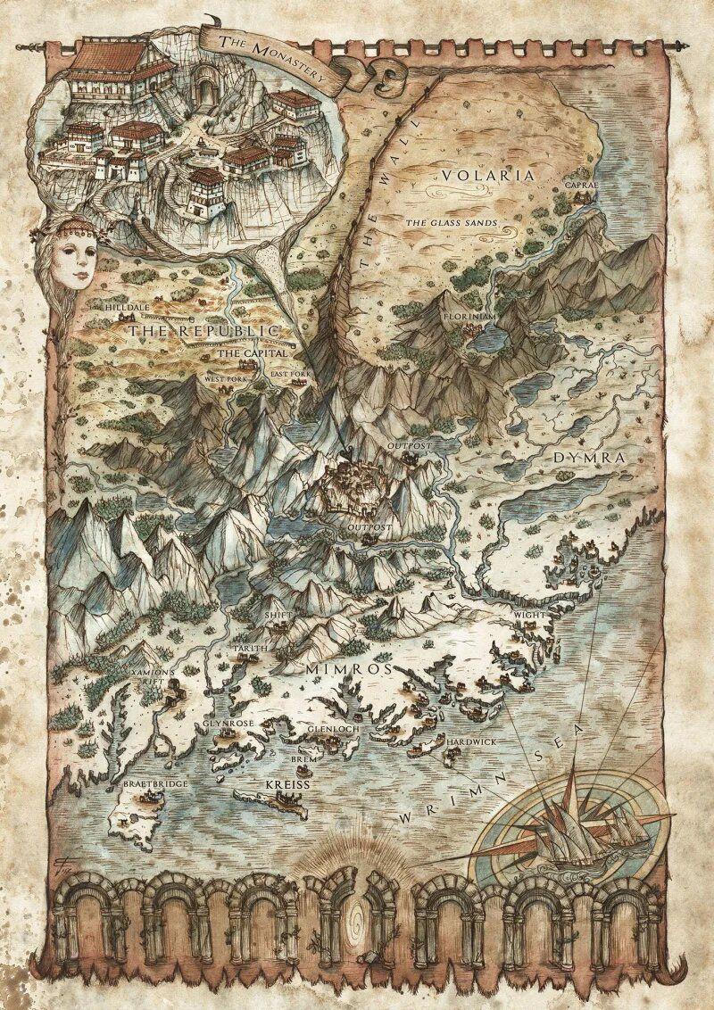 Les magnifiques maps de Francesca Baerald