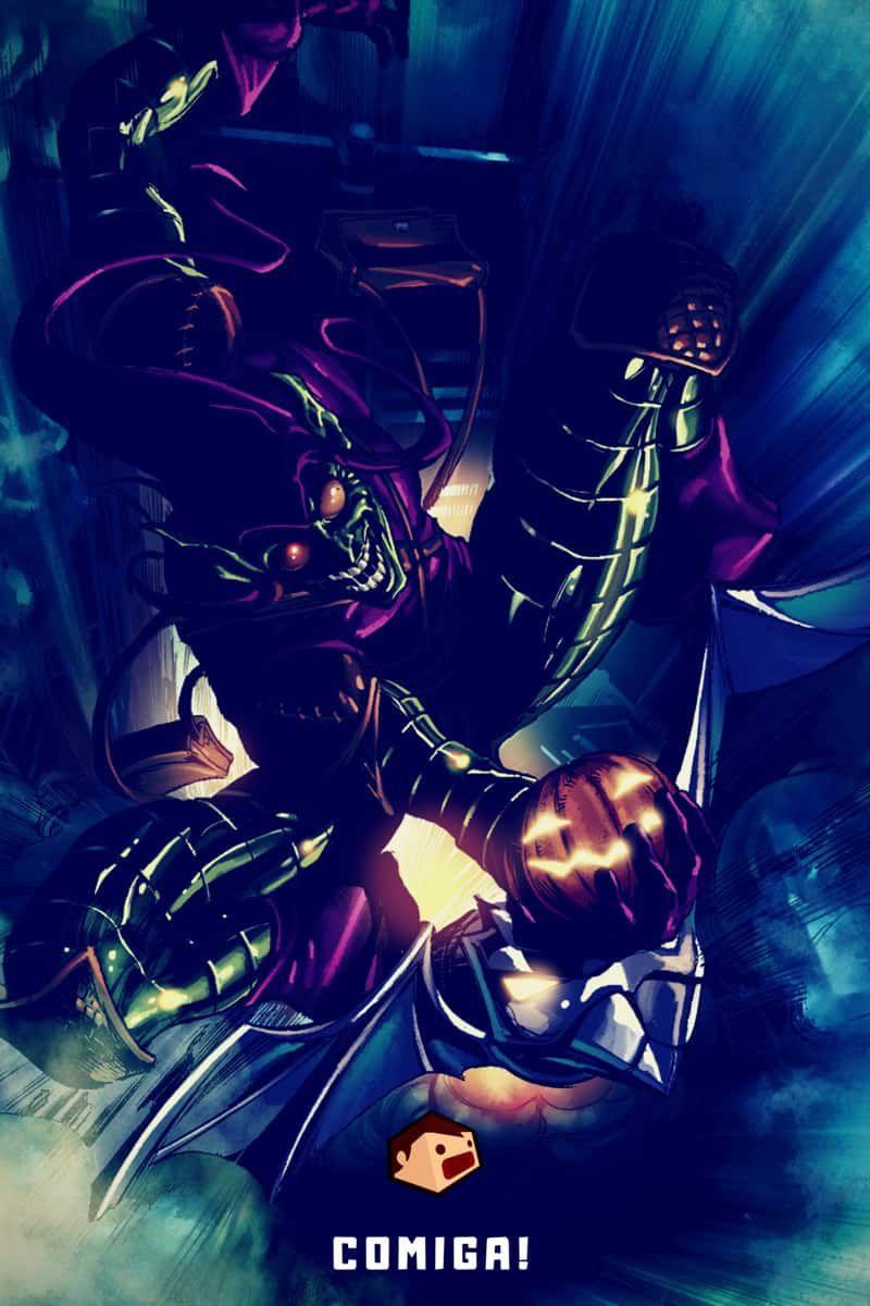 super-vilains marvel comics le bouffon vert