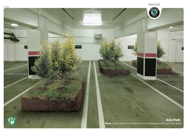 Automobiles-Skoda-car-park