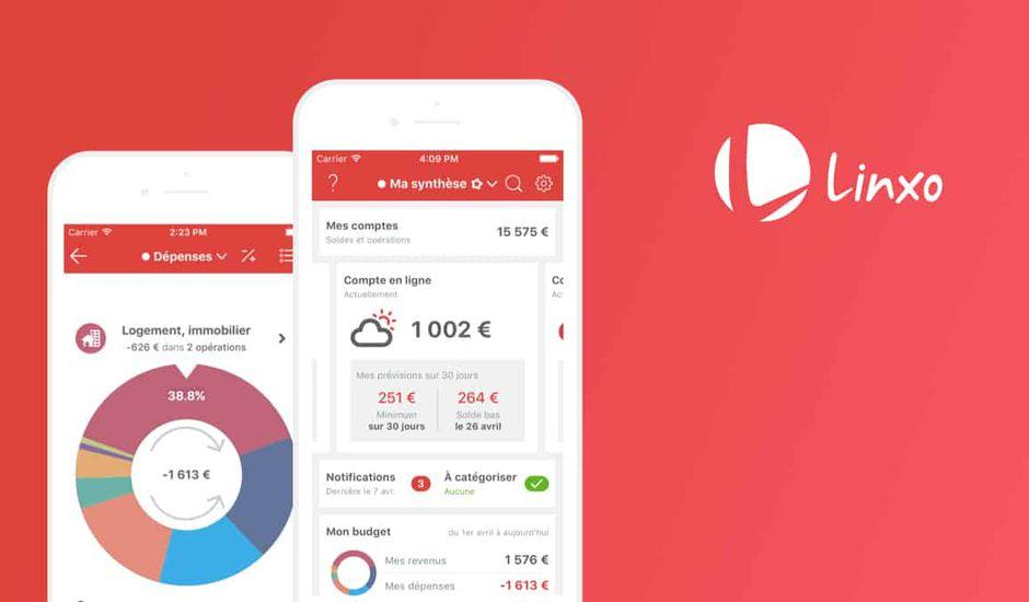 Linxo application open banking