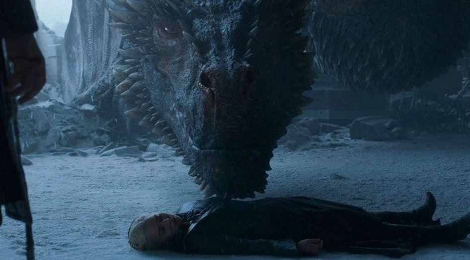 Drogon et Daenerys