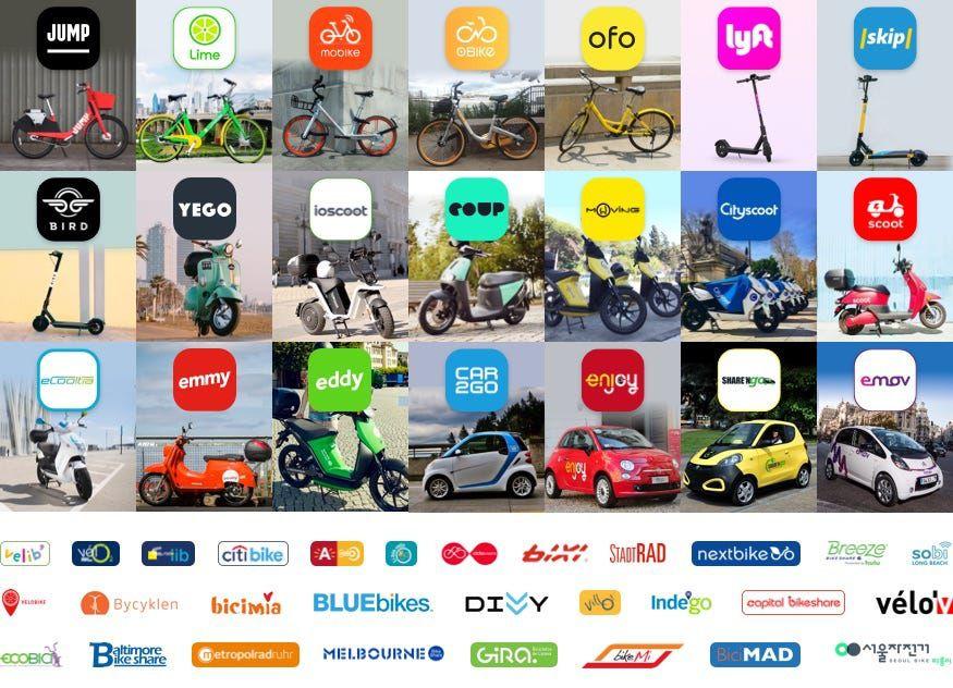 Explosion des services de mobilité urbaine !