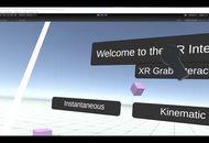 Capture d'écran de la vidéo de présentation des interactions de Unity