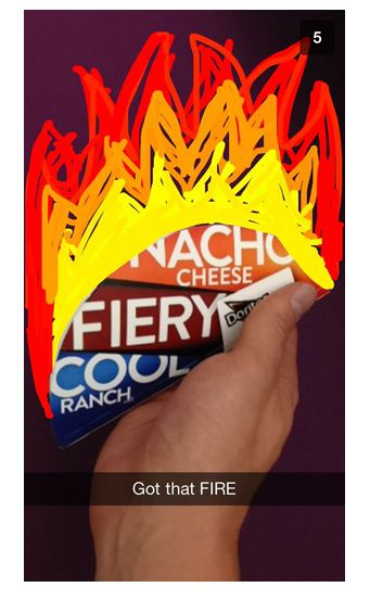 Application Snapchat Tacobell