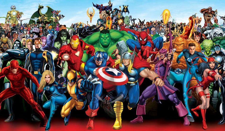 5 ans de projets pour Marvel