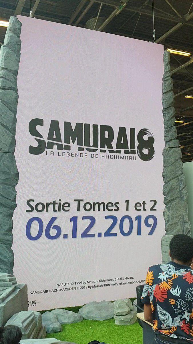 Date de sortie de Samuraï 8 en France