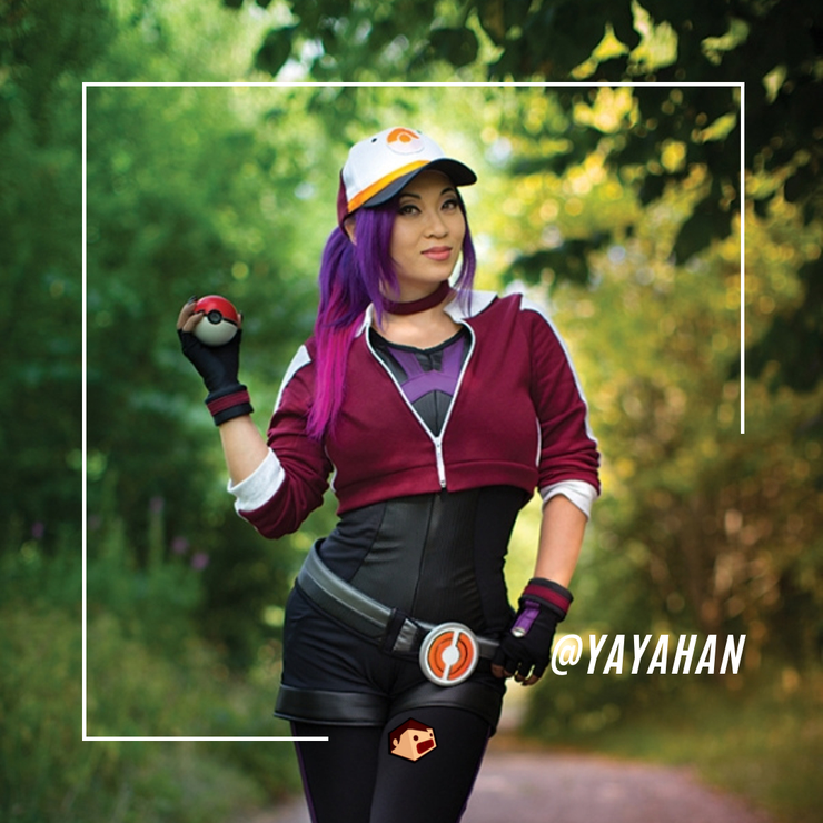 yaya han cosplay pokemon go