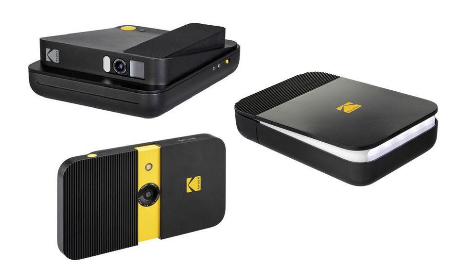 Kodak lançait sa nouvelle gamme Smile en 2017