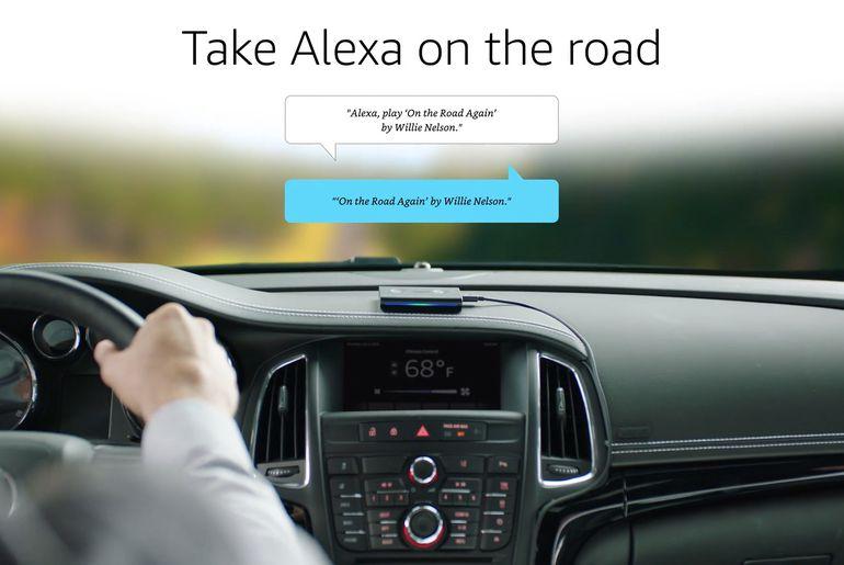 Alexa intègre PayByPhone pour Echo Auto