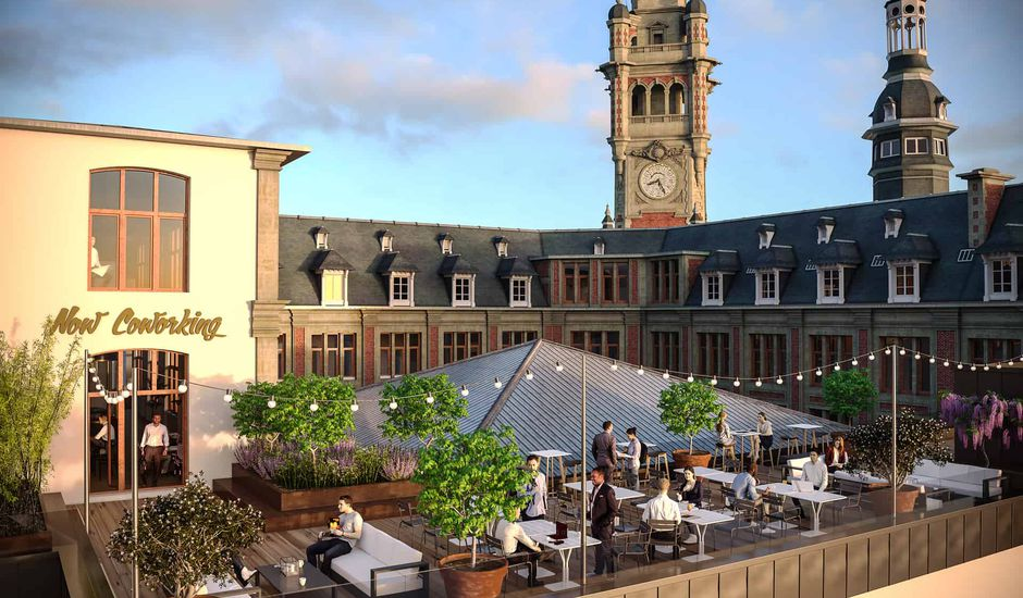 Now Coworking Lille terasse