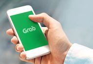 L'application Grab sur un smartphone.