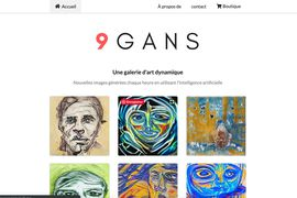 9GANS l'art par l'IA