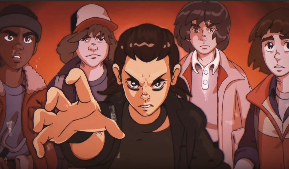 Stranger Things en anime