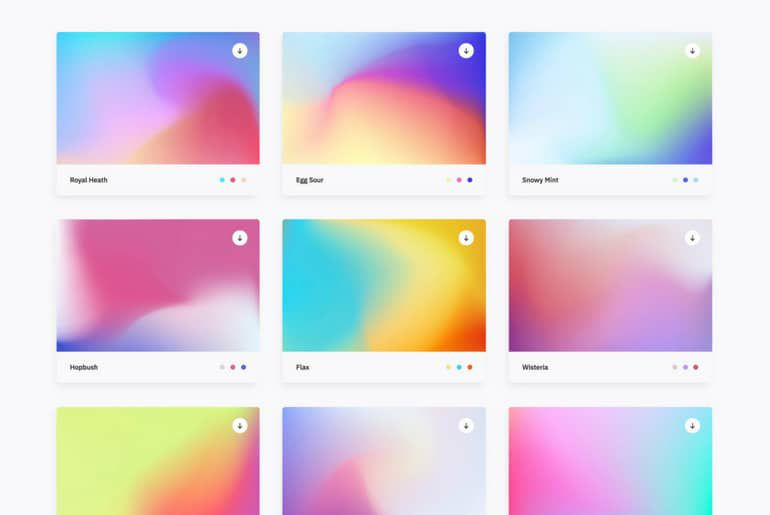 100 gradients gratuits