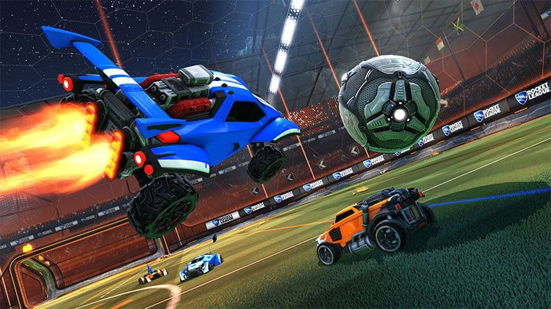 Rocket League sur console