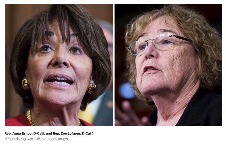 Les représentantes démocrates à l'origine du projet