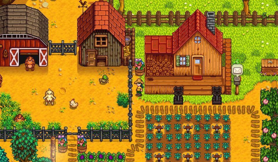 Stardew Valley version mobile sur Android