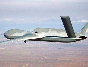 Aperçu d'un drone militaire.