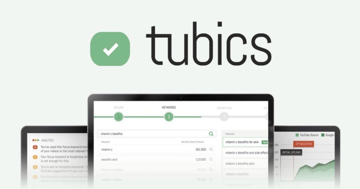 Tubics : un outil pour améliorer votre référencement sur YouTube et obtenir plus de vues !