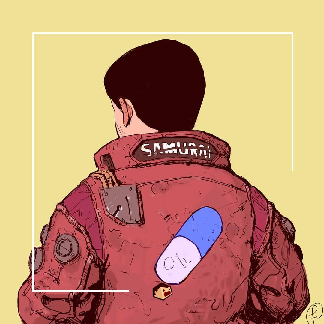artwork du manga akira