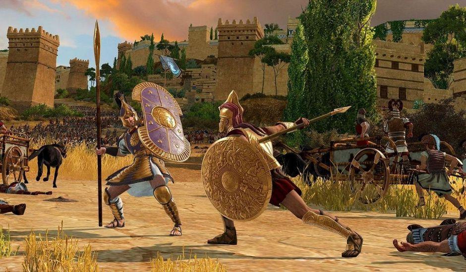 Visuel promotionnel de Total War Saga : Troy