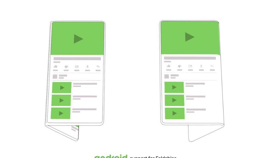 Google a annoncé que Android sera compatible avec les smartphones à écran pliable