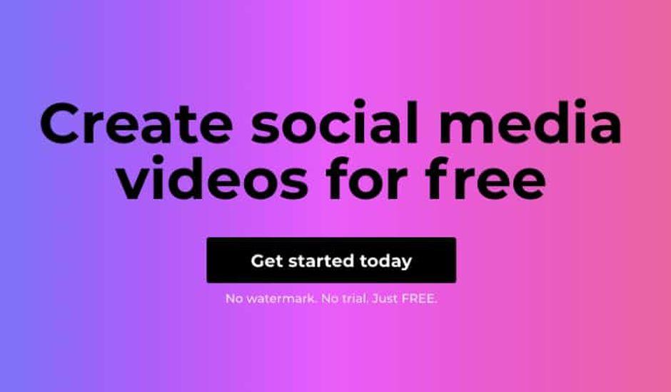 un outil pour créer des vidéos sur les réseaux sociaux