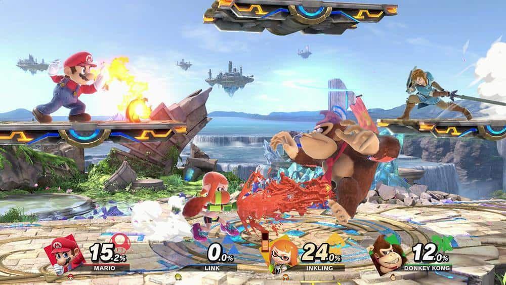 Super Smash Bros Ultimate sur Switch