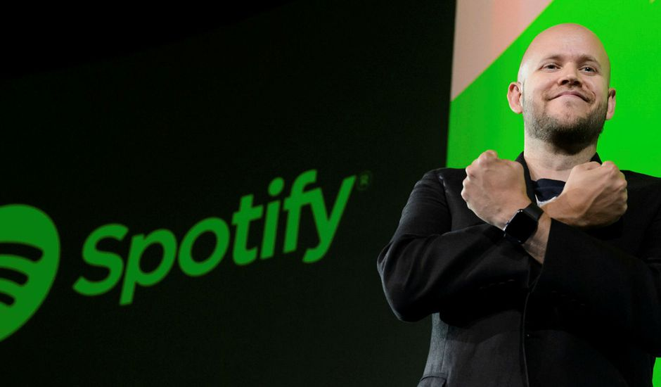 Le patron de Spotify Daniel Ek