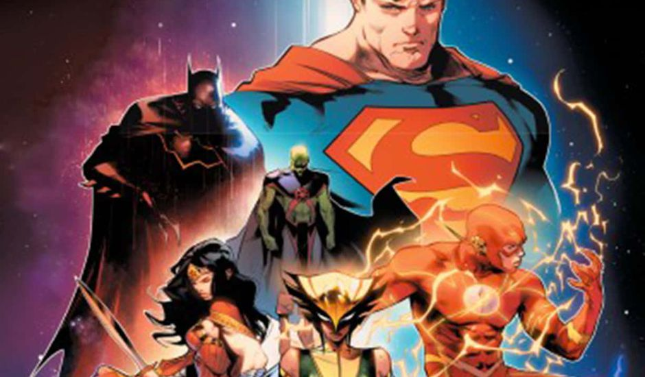 comics justice league new justice tome 1 vf
