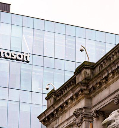 Les bureaux de Microsoft à Vancouver, au Canada.