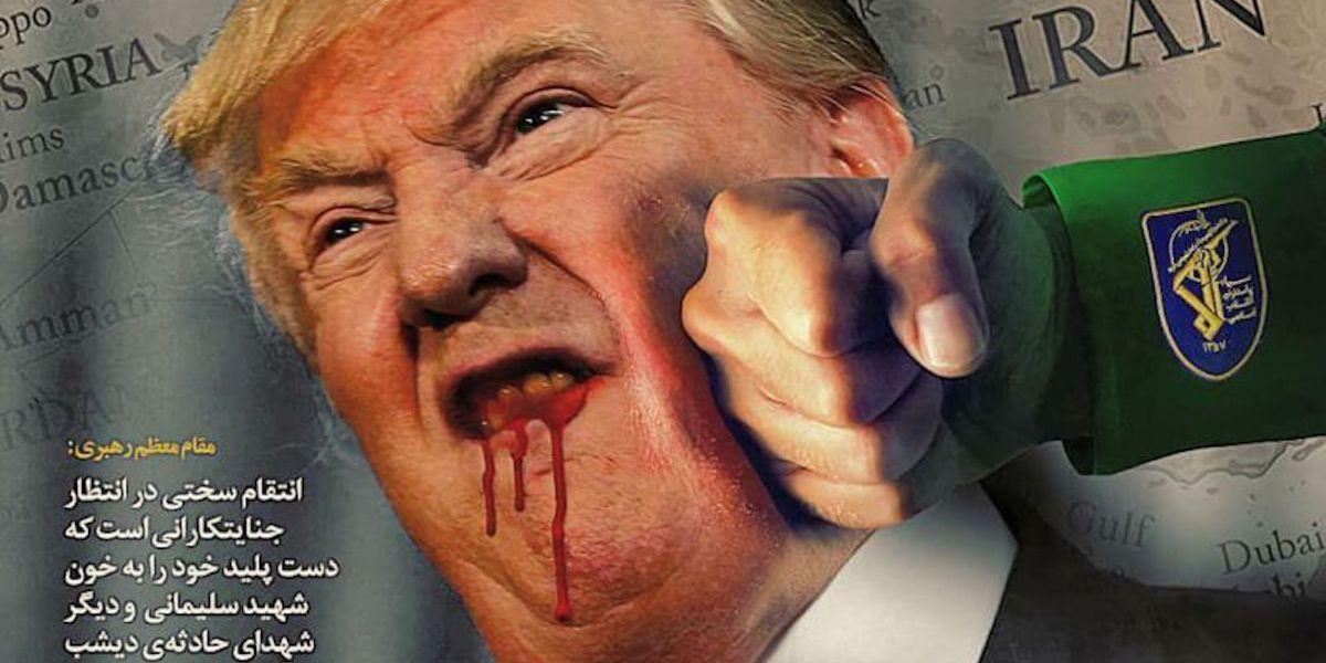 L'Iran riposte et vandalise un site web du gouvernement américain