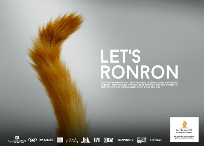 Les Chatons d'Or 2015 - Let's ronron Affiche 2