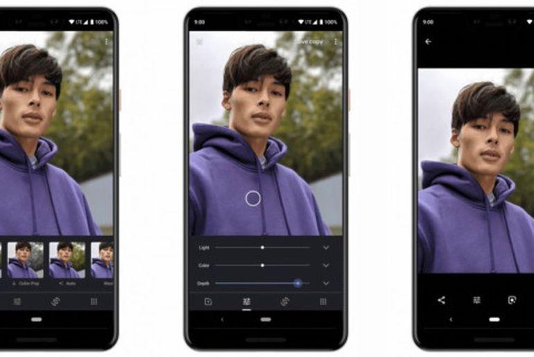 Grâce à Google Photos, le flou d'arrière-plan des portraits va pouvoir être modifié sur iO
